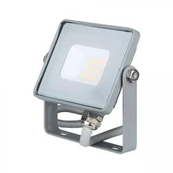 Projector LED SMD CINZENTO 10W 4000K 850Lm SAMSUNG V-TAC 431 - 8950431