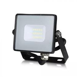 PROJECTOR LED 10W 4500ºK 800LM PRETO SAMSUNG V-TAC 425 - 8950425