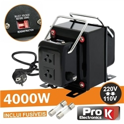 Conversor 110v-220v / 220v-110v 4000W PROK - CONV4000W