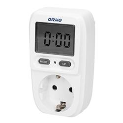 MEDIDOR CONSUMO ENERGIA LCD 230VAC 16A ORNO OR-WAT-419 [GS] - OR-WAT-419(GS)