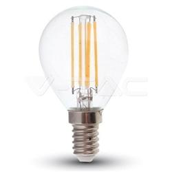 LAMPADA LED P45 E14 FILAMENTO 4W 320Lm 2700K DIM. V-TAC 4394 - 8954394