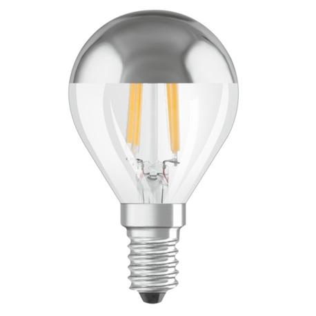 LAMPADA LED MEIA CALOTE P45 E14 4W 2700K OSRAM 439474 - OSR439474
