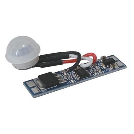 Módulo sensor movimento P/ perfi fita LED 12..24VDC Ø14mm - 302-1972