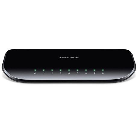 TP-LINK 8-Port Gigabit Desktop Switch - TL-SG1008D - TL-SG1008D
