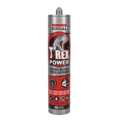 COLA E VEDA SOUDAL T-REX POWER BRANCO 290ML - 500-119907