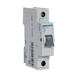 Disjuntor 1P 16A C 3kA 1M MW116 - MW116