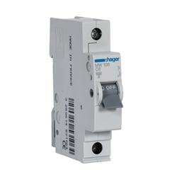 Disjuntor 1P 6A C 3kA 1M MW106 - MW106