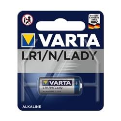 PILHA ALCALINA LR1 / LADY / N 1.5V - VARTA 4001 - 9004001