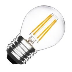 LAMPADA LED P45 E27 4W 2700K FILAMENTO TRANSPARENTE - 41/B45-2704-TEC