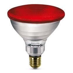 LAMPADA INFRARED PAR38 IR 100W E27 230V RED PHILIPS 60052315 - 60052315