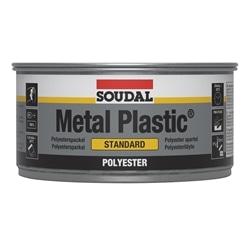 MASSA POLiÉSTER 2 COMPONENTES Metal Plastic Standard 250g - 5411183009080