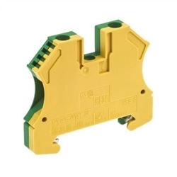 BORNE WPE 6 VERDE AMARELO 6mm2 WEIDMULLER 1010200000 - 1010200000