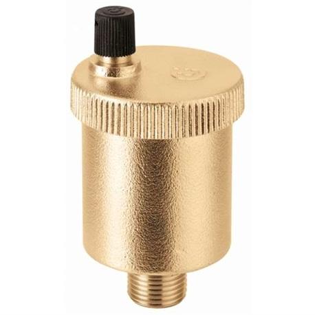 "Purgador de ar automático Minical 1/2""amarelo 502040 Caleffi - 84500502040"