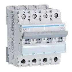 Disjuntor 4P 40A C 6/10kA 4M NFN440 - NFN440