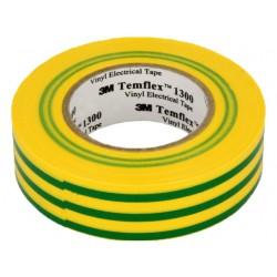FITA TEMFLEX 1300 18X20 VERDE/AMARELO - 63252632