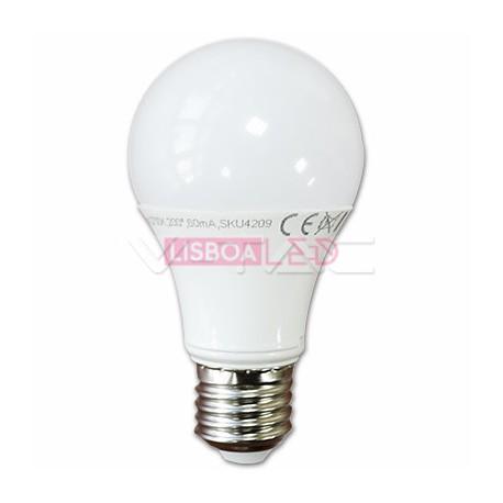 9W Lâmpada A60 E27 Branco Quente 200º 806Lm - 8957260