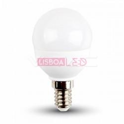 5,5W Lâmpada P45 E14 Branco Quente 180º 470Lm - 89542501