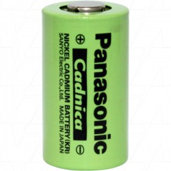 Elemento NiCd SubC 1800mAh 1.2V - Sanyo KR-1800SCEMM 650TVL - 120-1032