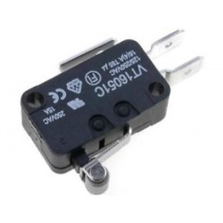 MICROSWITCH C/ PATILHA R12mm ROLAMENTO HIGHLY - VT16051C - 010-0105