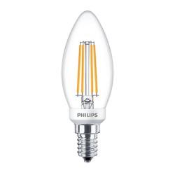 LAMPADA CLA LEDCANDLE D 5-40W B35 E14 70982500 PHILIPS DIM