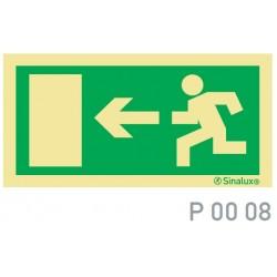 PLACA SINALUX P00 08 300X150 - P0008300X150