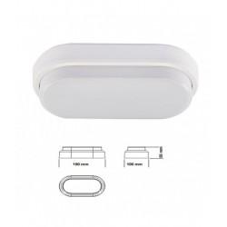 Aplique LED OVAL IP54/8w/40W/4000ºK/560Lm/V-TAC-1312 - 8951312