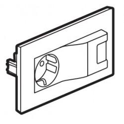 864123 NILOÉ-STEP TOMADA MISTA 2P+T USB BRANCO