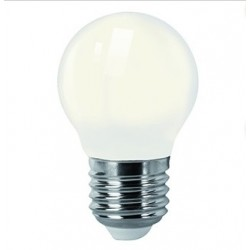 LAMPADA LED 4W 2700K E27 230V 400LM FOSCA MATEL 23571