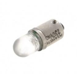 Lâmpada LED de baioneta Ø8x26mm 230VAC 750mVA BA9S - 017-0364