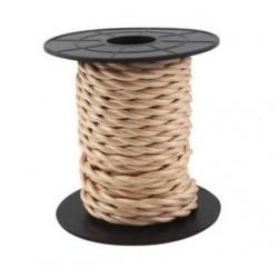 Cabo têxtil trançado 2x0.75mm 10M COBRE GSC 3902980 - 5003902980