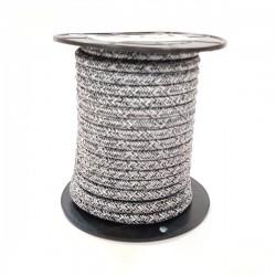 Cabo têxtil 2x0.75mm 10M PRETO/CINZA GSC 3902987 - 5003902987