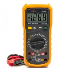 Multimetro Digital Profissional DB2000 188x93x50mm 380gr - 500DB2000