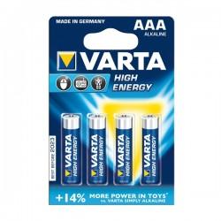 PILHA VARTA HI-ENERGY LR03/AAA [emb 4] 4903 - VARTA4903-4