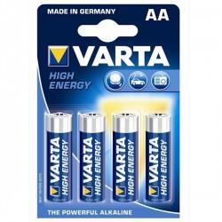 PILHA VARTA HI-ENERGY LR06/AA [emb 4] 4906 - VARTA4906-4