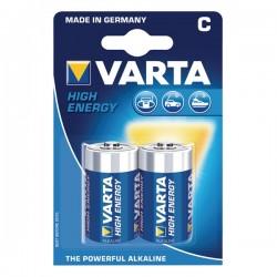 PILHA VARTA HI-ENERGY LR14/C [emb 2] 4914 - VARTA4914-2