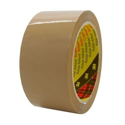 Fita ades.Polipropileno 3M Scotch 371 CASTANHO 50mmx50MT - 0253M371CT