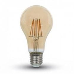 Lâmpada LED 10W A60 Filamento E27 Ambar 2200ºK V-TAC 7157