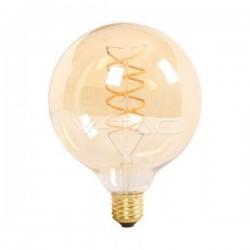 LAMPADA LED 6W AMBAR G125 E27 V-TAC 7328