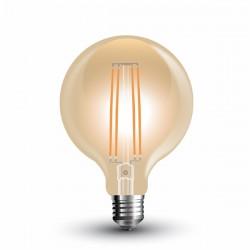 LAMPADA LED 7W FILAMENTO AMBAR G95 E27 V-TAC 7147