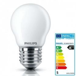 LAMPADA LEDLuster 4.3W/40W P45 E27 OPAL. PHILIPS 70647300 - 70647300