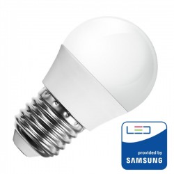 Lamp/Lustre/Opal/E27/5.5W/40W/470Lm/6000K/SAMSUNG/V-TAC 176