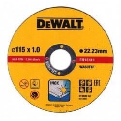 Disco Inox 115x1.2 DEWALT - 2977120637000