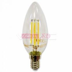 LAMP. CHAMA 4W 400Lm Filam 2700K. E14 DIM SAMSUNG V-TAC-278