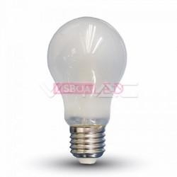LÂMPADA LED E27 6W»55W LUZ QUENTE 660Lm A60 FILAMENTO FOSCA - 8954480