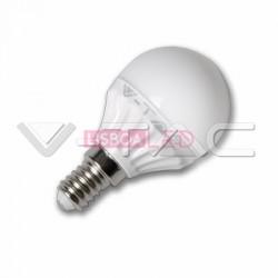 4W Lâmpada P45 E14 Branco Frio 180º 320Lm - 8954124