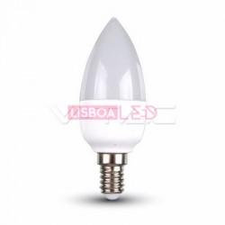 6W Lâmpada Chama E14 Branco Neutro 200º 470Lm - 8954258