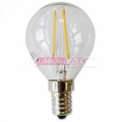 2W Lâmpada P45 Filamento E14 Branco Quente 300º 180Lm - 8954262