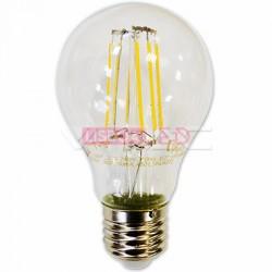 Lamp/A60/Clar/E27/Fil/6W/60W/550Lm/2700K/V-TAC-4272