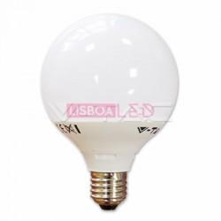 Lamp/G95/Opal/E27/10W/60W/810Lm/2700K/V-TAC-4276