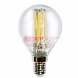 4W Lâmpada P45 Filamento E14 Branco Quente 300º 400Lm - 8954300